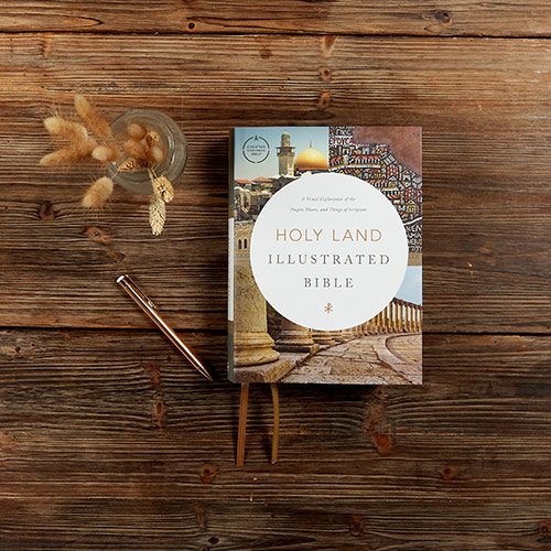 FLASH GIVEAWAY: Enter to Win a Holy Land Illustrated Bible! #HolyLandBibleL3